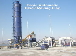 Block Machine for Hollow Block&Solid Paving Brick (HQTY9-15)