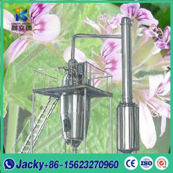 Stainless Steel Large Scale Aromatic Vegetable Oil Steam Distillation Plant