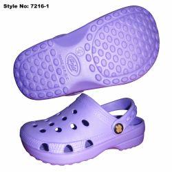 Purple Color Soft Man Clogs, Classic Design EVA Clogs Shoes