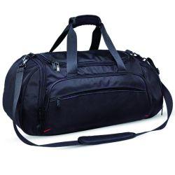 Polyester/Canvas Trolley Promotion Duffel Luggage Gym Sports Duffle Travel Bag