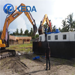 Movable Best Selling Suction Sand Dredger Equipment for Sale