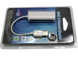 USB 2.0 to RJ45 LAN Network Ethernet Adapter Card 10/100Mbps