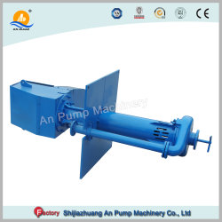 Wear Resistant Submersible Vertical Slurry Pump for Mining Pit Discharge