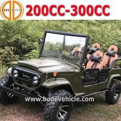 China Hunting Gasoline Garden Utv Operated Mini Jeep