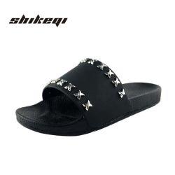 63cd4d50c6a3fa Rivet Flat Sandal China Latest Design Women Slipper Sandals for Woman  Slipper Ladies Flat Slipper