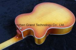 DIY L5 Guitar Kits / Classic L-5 Electric Jazz Guitar in Sunburst (TJ-219)