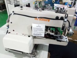 Direct Drive Computer High Speed Button Attaching +Automatic Sewing Machine