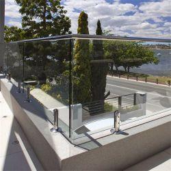 Customized Modern Design Glass Balcony Railing Designs