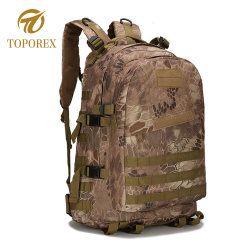 Professional Custom Military Tactical Bag Hiking Camping Double Shoulder Backpack
