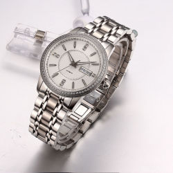 Custom Fashion Watch OEM  Jewelry Stainless Steel Automatic Watch