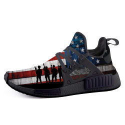 Fashion Footwear High Quality Wholesale Running Sneaker Drop-Shipping Trump Eagle USA Flag Sports Shoes
