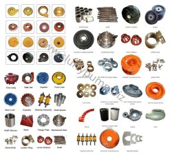 Professional Slurry Pump Spares Parts