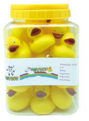 Free Sample Rubber Yellow Duck