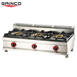Hot Ing 3 Burner New Model Stan Stainless Steel Top Gas Stove