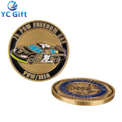China Wholesale Customized Antique Bronze 3D Craft Metal Challenge Coin Figure Souvenir Military Navy Army Coin for Activity Souvenir (CO22-C)
