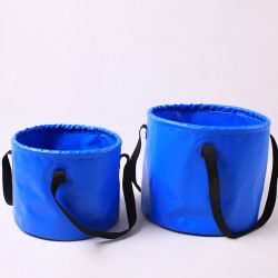 PVC Foldable Waterproof Water Bucket for Outdoor (MC4012)