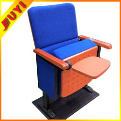 Jy-600 Used for Home Commercial Wooden Parts Cinema Chairs Prices Folding Outdoor Concert Chair Wooden Church Chairs