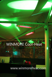 Remote Control Infrared Heater for Gazebo/Garden Office/Greenhouse/Amusement Parks