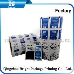 Alcohol Wet Wipes Packaging Aluminum Foil Paper