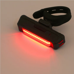 Wholesale Customized Amazon Bicycle Light USB Rechargeable 120lm 4 Mode Professional Tail Bike Rear Light