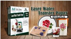 Factory Sell Directly A4 Laser Water Slide Decal Transfer Printing Paper