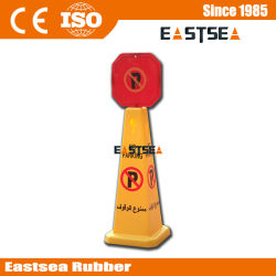 Custom Printed Safety Cone Wet Floor Sign Warning Cone
