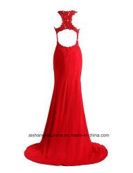 Wholesale Women Chiffon Embroidery Sheath Evening Party Prom Dress