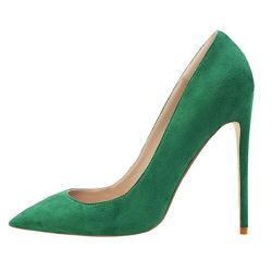 Fashion Party Wear Pumps Leather Stilettos Girls Ladies Women High Heel Shoes