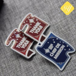 Metal Running Race Sports Awards Challenge Gift Lapel Pins for Kids