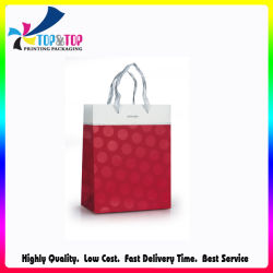 Glossy Lamination Coated Paper Shopping Bag for Cosmetic