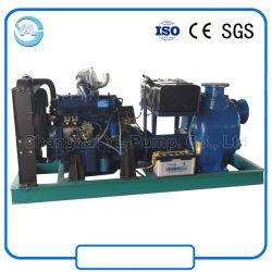 Self Priming Water Cooler Diesel Engine Slurry Pump