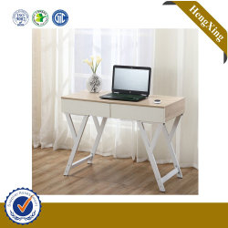 Modern Student Standing Table Home Living Furniture Wooden Desktop with Metal Cabinet