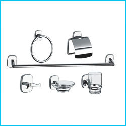wall mounted bathroom accessories set. Factory Wall Mounted Economic Style Zinc Alloy Bathroom Accessories 6 PCS  Set China