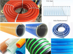 Spiral Reinforced PVC Heavy Duty Hose for Sand Blast Suction