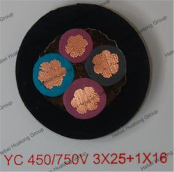 3 Core LV and Mv Rubber Cable/Mining Cable for Power Transmission
