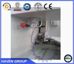 QC12Y-20X3200 Hydraulic Swing Beam Metal Steel Plate Shearing Machine
