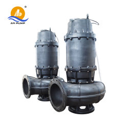 Auto-Coupling Vertical Submersible Pump for Municipal Sewage Water