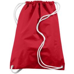 Promotion Polyester/Nylon Drawstring Backpack Bag for School Home Travel/Sport