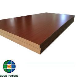 Melamine Laminated Plain Raw Veneer Faced Mdf Board Medium Density Fiberboard For Building Materials And