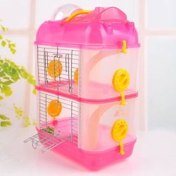 Small Hamster Hamster Hamster Cage Nest House Pet Supplies Villa Luxury Transparent Pet Supplies Wholesale