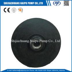Horizontal Centrifugal Slurry Pump Rubber Impeller
