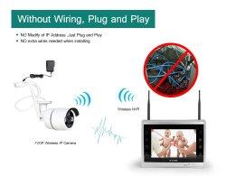 Wholesale Network Video Recorders 8 Channel CCTV IP Camera NVR Kit WiFi Wireless Camera