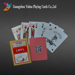 310GSM German Black Core Paper Playing Cards for Casino