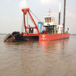 Cutter Suction Dredger with Cummins Engine Cutter Head and Slurry Pump for Sale