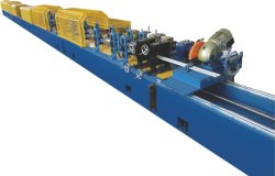 Insulated Garage PU Foam Roller Shutter Door Forming Machine