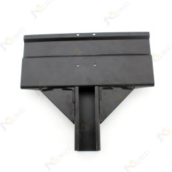 Carbon Steel Metal Stamping Sports Equipment Accessories in Black Surface
