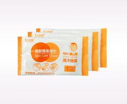 Wipe Factory Deodorant Shower Refreshing Body Bath Wet Wipes FDA Certificate