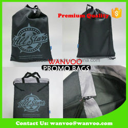 Non Woven Drawstring Shoes Advertising Sport Bag on China