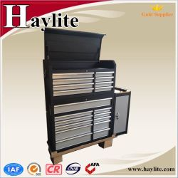 Heavy Duty Storage Cabinet Metal Garage Black Steel Tool Cabinet