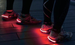 Safety Signal Sports LED Light Shoe Heel Clip